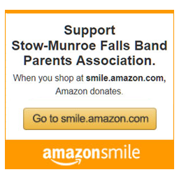 Support Stow-Munroe Falls Band Boosters Association. When you shop at smile.amazon.com, Amazon donates. Go to smile.amazon.com